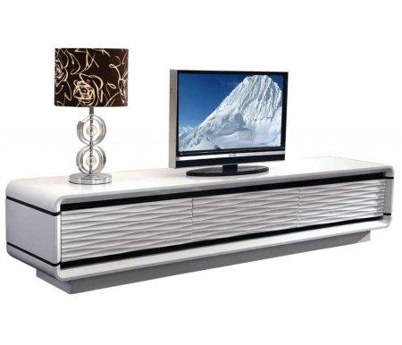 ТВ-тумба Caffe Collezione 3D Modo 200х45 белый лак фото