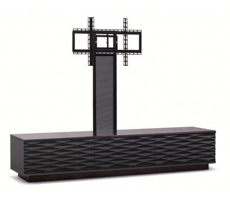 ТВ-Тумбы Lisewood Iceberg 3 PS корпус черный фасад черный основание черное ПС черный  ТВ-тумба Akur
