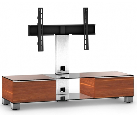 Купить ТВ-тумба Sonorous, MD 8140-C-INX-APL, стальной / прозрачный / apple