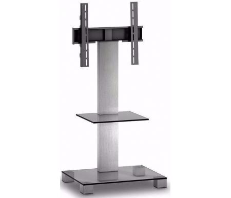 Купить ТВ-тумба Sonorous, PL 2515-С-INX, прозрачный / стальной