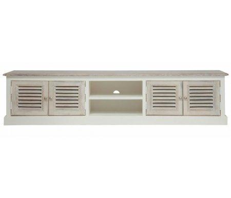 Купить ТВ-тумба Тетчер, Secret De Maison Riviera (mod.2320) antique white / white wash, antique white / whitewash