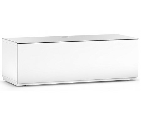 Купить ТВ-тумба Sonorous, ST 130F WHT WHT BS, белый