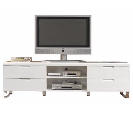 Купить Тв тумба Dupen, TV 602, белый глянец