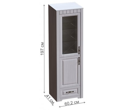Шкаф-витрина Мебельград
