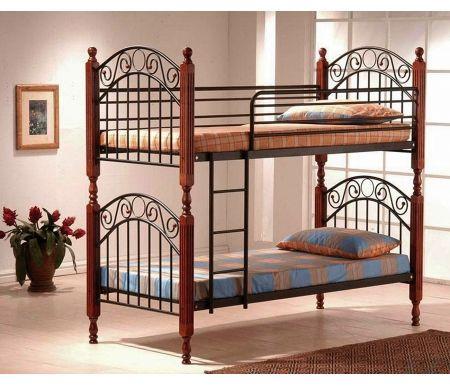 Кровать двухъярусная PS 600 (90*190)Двухъярусные кровати<br>В комплекте с металлической решеткой, без матраса.<br>