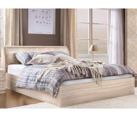 Купить Двуспальная кровать Диал, Кэт — 1 Snake арт.001 140х200 см ясень светлый / snake light