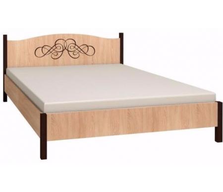 Кровать Адель (Adele) 160 см x 200 смДвуспальные кровати<br>На изголовье имеется декоративный рисунок.<br>