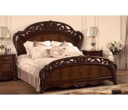 Кровать Аллегра AV-03 180x200Двуспальные кровати<br>Кровать Аллегра AV-03 удобная двуспальная кровать. Декоративные элементы выполнены из полипропилена. <br><br> Материал ножек: МДФ.<br>