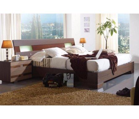Кровать Benecarlo 112 180х200Двуспальные кровати<br>Позиция покрыта шпоном натурального дерева.<br>