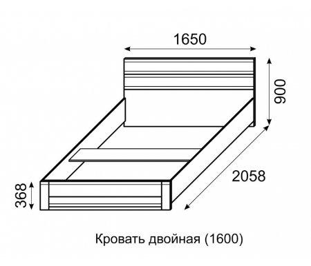 Кровать Арника