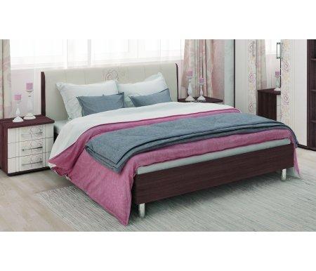Кровать Джулия 97.01 160x200Двуспальные кровати<br>Материал ножек: металл.<br>