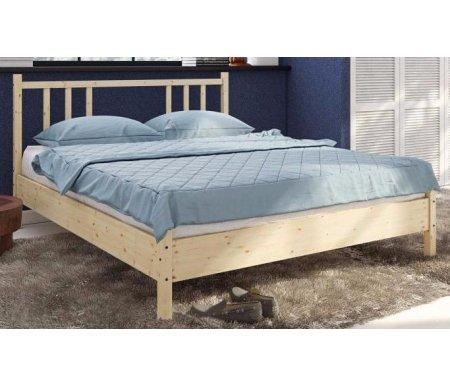 Кровать Карелия МС-21Двуспальные кровати<br>Кровати Карелия изготовлены из высококачественной карельской сосны. К кроватям подходит ортопедическое основание CB. <br> <br>  <br> <br>  Кровать Карелия МС-21/1:<br> <br>  Размер спального места: 140 см x 200 см.<br> <br>   <br>    <br>   <br> <br>   <br>    Кровать Карелия МС-21:<br>   <br>    Размер спального места: 160 см х 200 см.<br><br>Цвет: Натуральная сосна