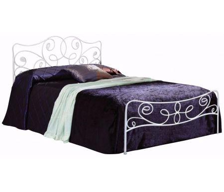 Кровать Olga 531 140 см x 200 см  кремоваяПолуторные кровати<br>Кровать стоит на шести ножках.Материал ножек: металл.<br>