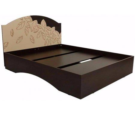 Кровать Оливия 1.6 Стандарт 160x200Двуспальные кровати<br><br><br>Цвет: Венге