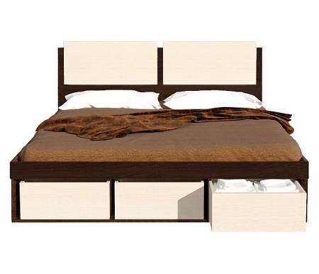 Здесь можно купить Арт-Сити СВ-66 бук тирольский / дуб кремона  Кровать с подъемным механизмом Фран Двуспальные кровати
