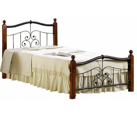 Кровать AT-9071 90 см x 200 смОдноспальные кровати<br>Выбрать матрас<br> <br>  Матрас не входит в стоимость кровати, но унас вы можете приобрести ортопедический матрас подходящего размера.Доступен широкий ассортимент, посмотреть и выбрать можно в разделематрасов. При возникновении вопросов обращайтесь к нашим менеджерам.<br>