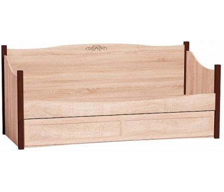 Купить Односпальная кровать Арника, Адель (Adele) 80 80х200 см дуб сонома