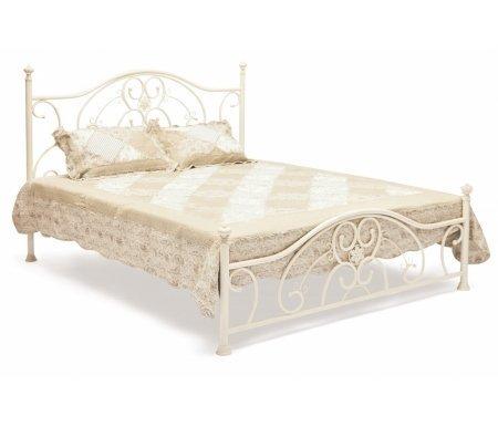 Купить Кровать Тетчер, Elizabeth (Элизабет) antique white, Antique brass (античная медь)