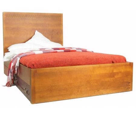 Купить Кровать Этажерка, Gouache Birch (М10512ETG), Россия