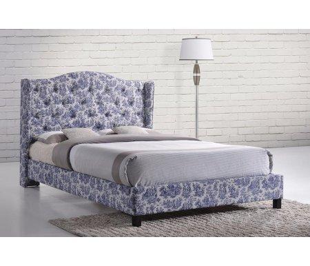 Кровать JOUY 6664 140 см x 200 смПолуторные кровати<br>Материал обивки: хлопок.<br>
