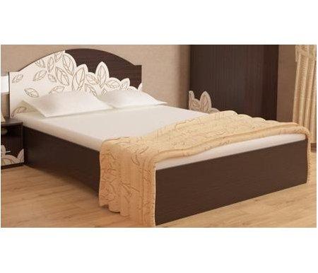 Кровать Оливия 1.4 КомфортПолуторные кровати<br><br><br>Цвет: Венге