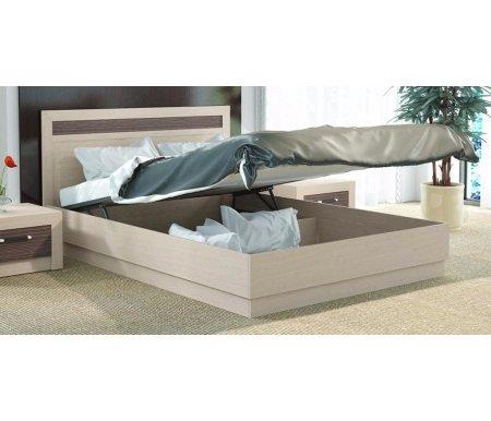 Кровать Токио с подъемным механизмом СМ-131.13.001 140 см x 200 см дуб белфорт / дуб белфорт / каналы дубаПолуторные кровати<br>Максимальная нагрузка 180 кг.<br>