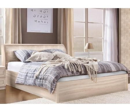 Купить Полутораспальная кровать Диал, Кэт — 1 Snake арт.001 140х200 см ясень светлый / snake light