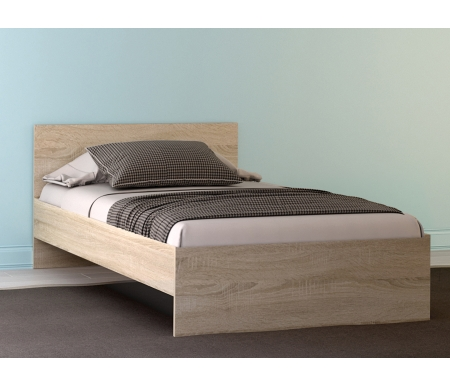 Купить Полутороспальная кровать НК мебель, Лиситея 120х200 см дуб сонома