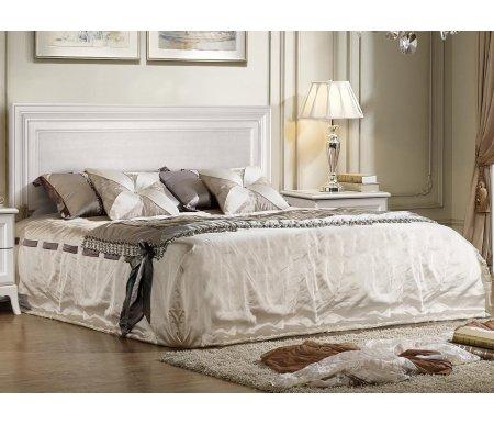 Кровать двуспальная Ярцево Амели АМКР-1[3] 160 х 200 см с ПМ выбеленный дуб фото