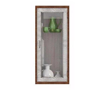 Здесь можно купить вертикальная Диего CB-364B  Витрина Фран Навесные шкафы