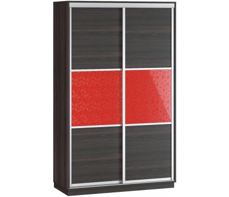 Купить Шкаф-купе Наша мебель, Денвер 120-Д13 венге / венге 3D листья, Россия