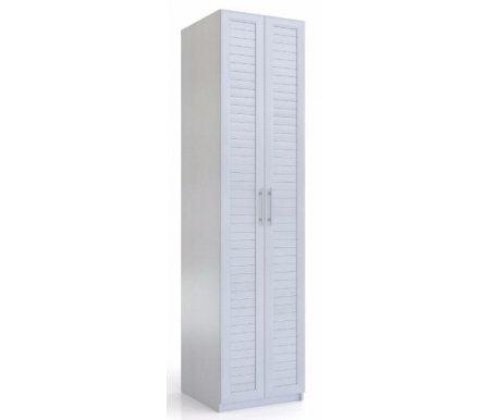 Шкаф 2-дверный Эстель СВ-411 вудлайн кремовый Фран