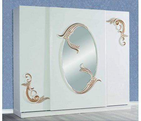 Шкаф 3-х дверный с сейфом Жасмин 10300Шкафы<br>Внутри шкафа имеется небольшой сейф с кодовым замком.<br>