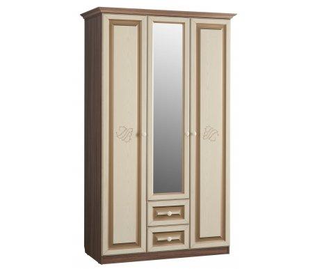 Шкаф трехстворчатый с ящиками ДелисШкафы<br><br>