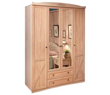 Шкаф четырехдверный для одежды и белья Адель (Adele) 9Шкафы<br><br>