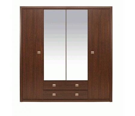 Шкаф четырехдверный платяной Коен SZF 4D2S /  214 венге магияШкафы<br><br>