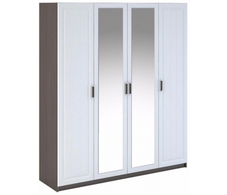 Шкаф четырехдверный Bravomebel