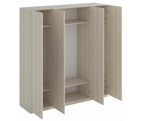 Шкаф четырехдверный ОГОГО Обстановочка