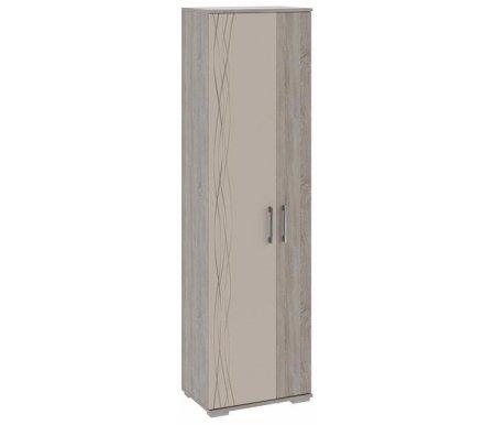 Флай ТД 264.07.26 дуб сонома / фон бежевый  Шкаф для одежды Трия