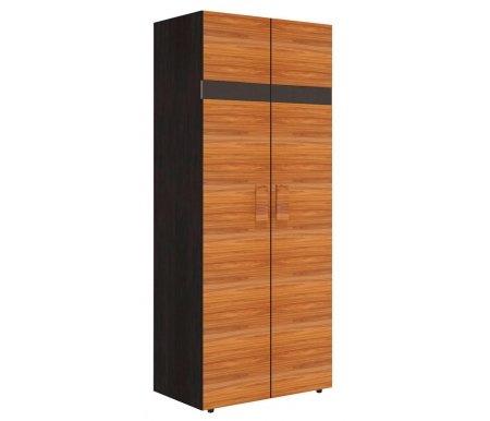 Шкаф двухдверный для одежды Hyper с глубиной 57,9 см палисандрШкафы<br>Ножки выполнены из пластика.<br>