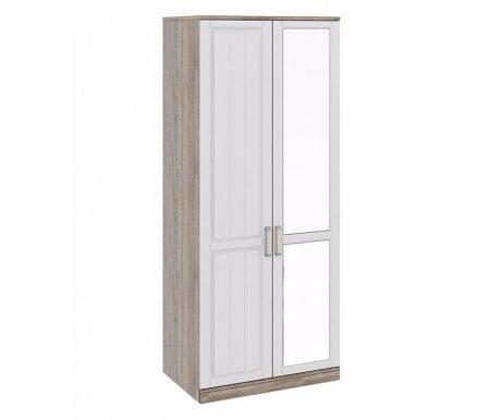 Шкаф двухдверный с одной зеркальной дверью Прованс СМ-223.07.005 зеркало справаШкафы<br>Зеркало располагается с правой стороны.<br>