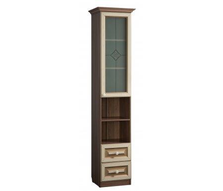 Шкаф комбинированный со стеклом ДелисМодульные витрины<br><br>