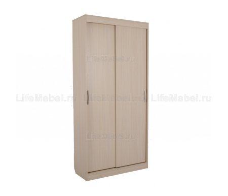 Шкаф-купе Лада 1 40 см без зеркала дуб млечный Мебельсон