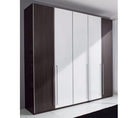 Шкаф пятидверный М2-10Шкафы<br>Для изготовления шкафа используются ДСП, алюминиевый профиль и европейская фурнитура. <br>Возможна докомплектация амортизаторами дверей и дополнительными полками. Стоимость уточняйте у менеджеров.<br>