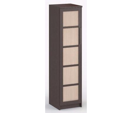 Шкаф однодверный Соло-015 венге / венге / молочный дубШкафы<br><br>