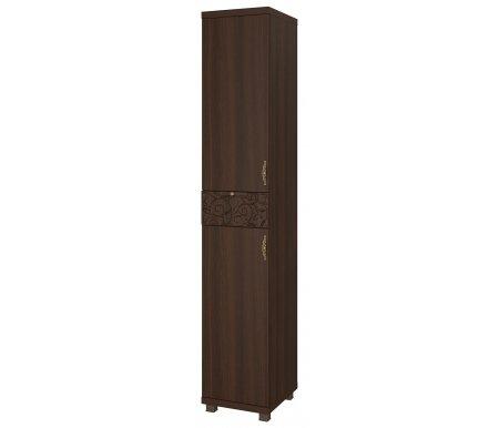 Шкаф-пенал комбинированный Ирис 4 дуб тортонаШкафы<br>Шкаф декорирован аккуратными ручками со стразами и имеет на ящике объемный рисунок.Ножки выполнены из пластика.<br>Угол открывания можно выбрать при сборке.<br>