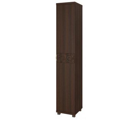 Шкаф-пенал однодверный для белья Ирис с глубиной 54,8 дуб тортонаШкафы<br>Шкаф декорирован аккуратной ручкой со стразами и имеет объемный рисунок на фасаде.Ножки выполнены из пластика.<br>Угол открывания можно выбрать при сборке.<br> <br> <br>  <br> <br> Шкаф с глубиной 45,2 см - шкаф Ирис 12. <br>Шкаф с глубиной 54,8 см - шкаф Ирис 24.<br>