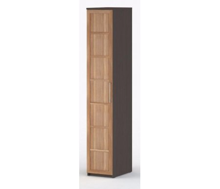 Шкаф-пенал платяной 60 Соло-035 ДСП венге / сливаШкафы<br><br>