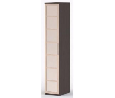 Шкаф-пенал платяной 60 Соло-035 с зеркалом венге / молочный дубШкафы<br><br>