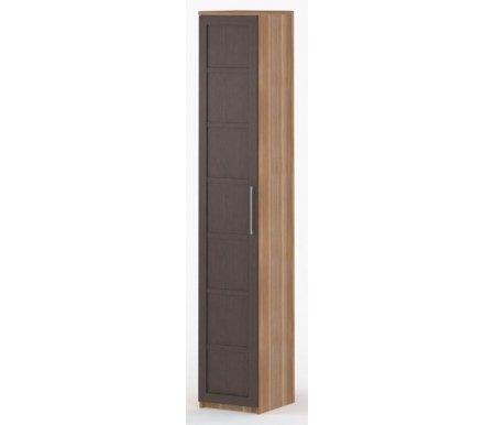 Шкаф-пенал Соло-002 45 см ДСП слива / венгеШкафы<br><br>
